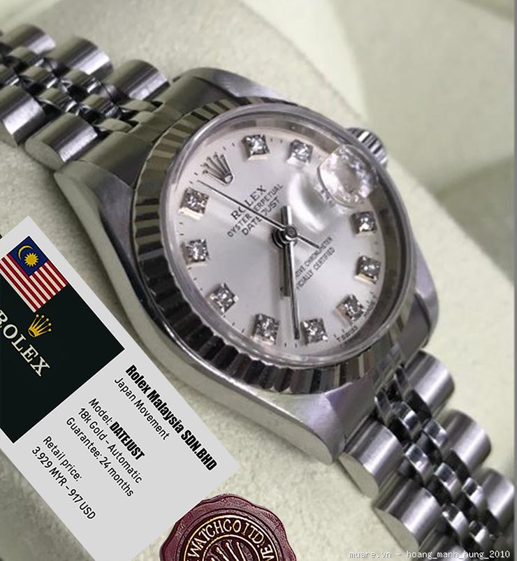 Rolex Malaysia, Omega, Tissot Thụy Sỹ fullbox 917USD giảm còn 255USD - 24