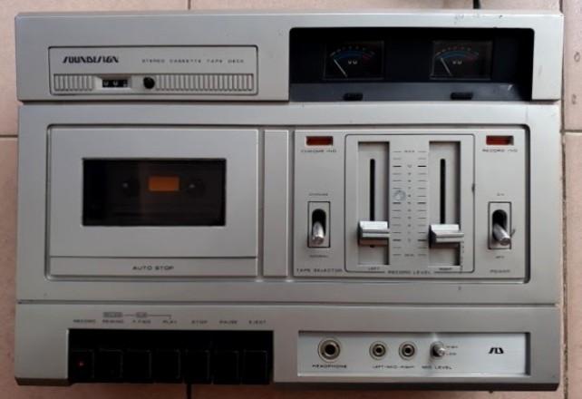 đầu cassette deck nhật