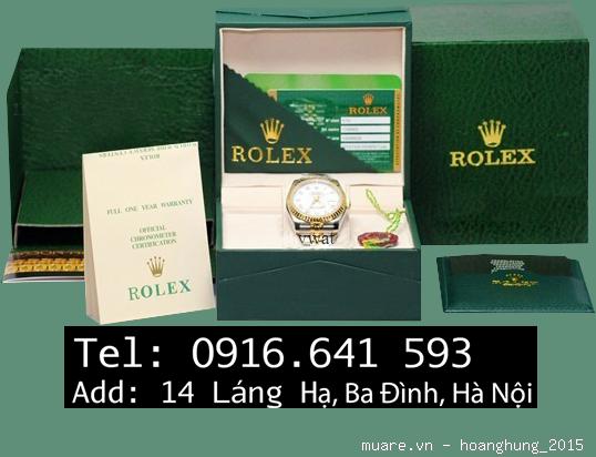 Đ.hồ Rolex nam nữ Malaysia fullbox 1.134USD giảm còn 295USD, có ảnh chụp - 50