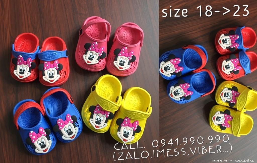 Dép xốp Disney siêu bền đẹp cho các bé,hàng Made In Thailand chuẩn,giá cực tốt.