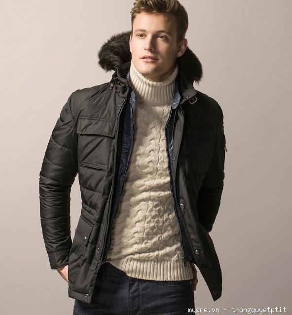 Áo khoác lông vũ Massimo Dutti chính hãng , chuẩn xịn 100% . . SALE
