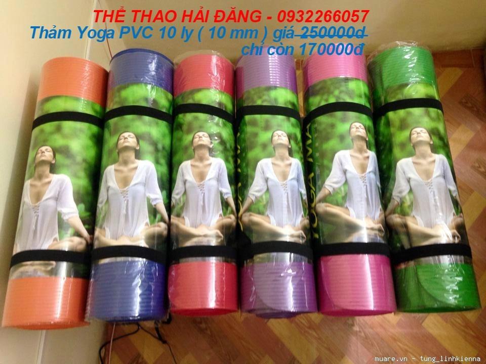 Thể thao Hải Đăng bán thảm yoga giá tốt nhất tại Hà Nội