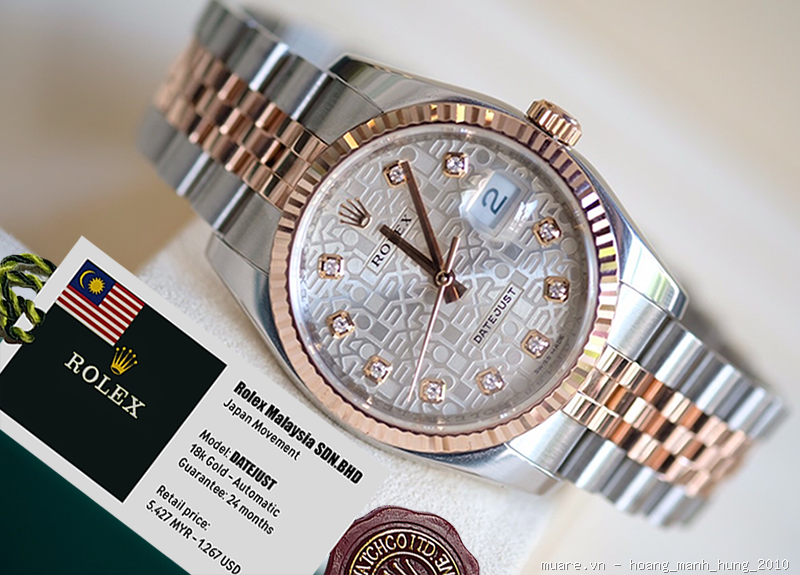 Ban Dho Rolex Malaysia Piaget Longines Thuy Sy new fullbox 1336USD giam gia con 425USD