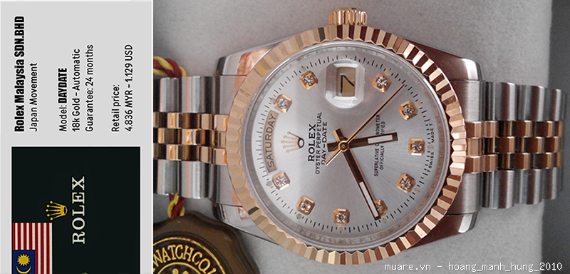 Rolex Malaysia, Longines Thụy Sỹ new fullbox $917 giảm giá còn $295!!! - 6