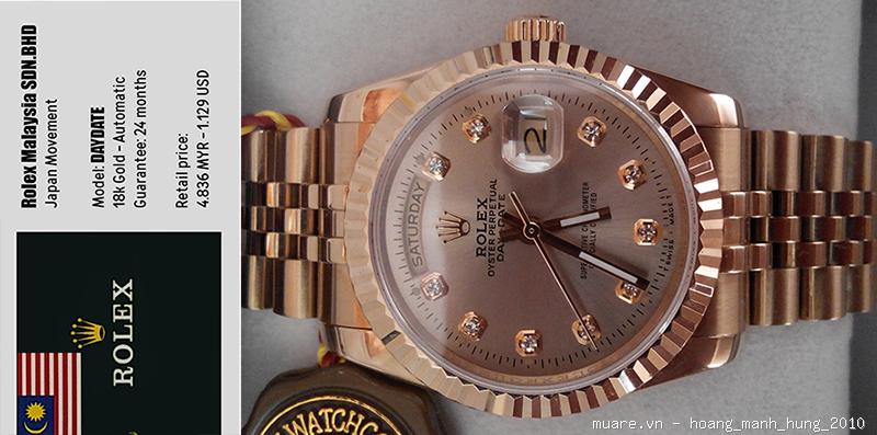 Rolex Malaysia, Longines Thụy Sỹ new fullbox $917 giảm giá còn $295!!! - 22