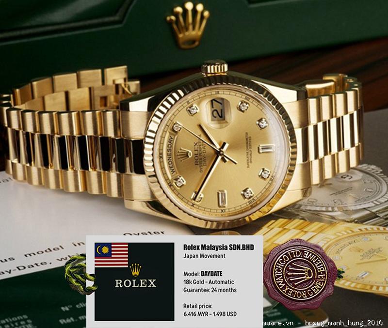Rolex Malaysia, Longines Thụy Sỹ new fullbox $917 giảm giá còn $295!!! - 8