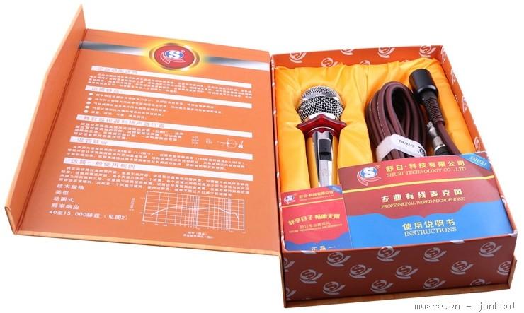 Micro hát karaoke cực hay, hát nhẹ, hút âm mạnh, giọng ca chân thực ch - 8