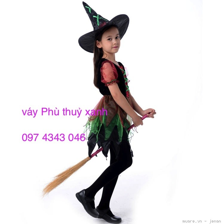 Trang Phục Hoá Trang, Quần áo Halloween, Cosplay, trang phục lễ hội, quần áo Phù thuỷ, công chúa - 4