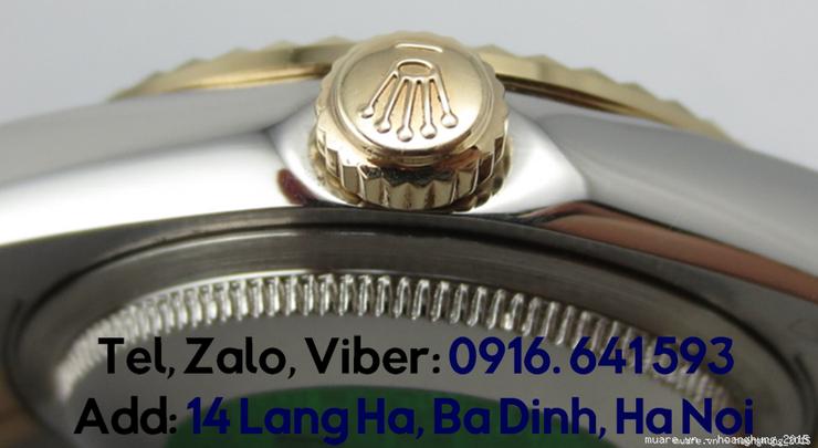 Đ.hồ Rolex nam nữ Malaysia fullbox 1.134USD giảm còn 295USD, có ảnh chụp - 30