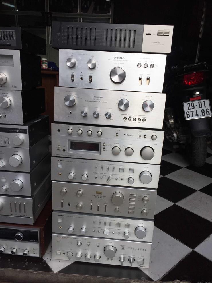 Bán buôn bán lẻ đồ audio bãi, md, cd, dvd, EQ, amply, loa giá tốt