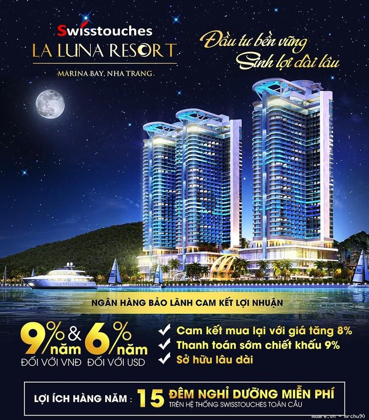 Swisstouches La Luna Resort  Bến Du Thuyền Casino Bãi Đỗ Trực Thăng Giá 1,7 Tỷ
