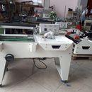 Máy cắt dán màng co bán tự động FQL 450, máy cắt dán màng co dạng chữ L