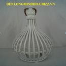 Các loại đèn nến tre giá rẻ Minh Hoa