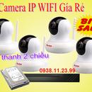 Lắp bộ 4 camera IP WIFI dùng cho gia đình