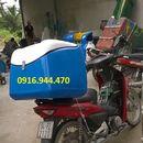 Thùng chở hàng sau xe máy, thùng chở hàng composite
