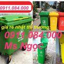 Xả kho 1500 thùng rác 120l, 240l giá sốc LH Ms Ngọc 0911.084.000