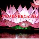 Đèn lồng  vải  hoa sen lễ hội đẹp rẻ Minh Hoa