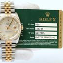 Đồng hồ Rolex Date Just 116243 mặt trai trắng size 36mm