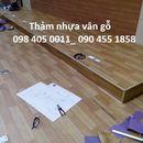 Sàn nhựa vân gỗ , tấm PVC lót sàn nhà giá rẻ 098 405 0011