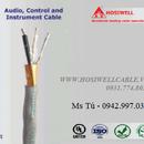 Cáp tín hiệu âm thanh thông báo chống nhiễu tiết diện 1.0mm2