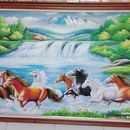 Tranh ngựa mẫu 003 tại xưởng vẽ tranh sơn dầu Thế Kỷ 21