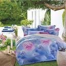 Set chăn ga 4 món thu hè họa tiết hoa cẩm tú cầu