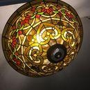 Đèn trần Tiffany họa tiết cổ điển châu âu