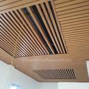 Hệ Lam chắn nắng sử dụng gỗ nhựa Việt Pháp