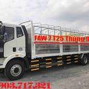 Xe tải Faw 7T25*7t25*7250Kg nhập khẩu 2019 Euro 4 thùng dài 9m7