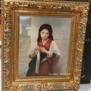 Giao lưu Bức tranh mang từ Pháp về.