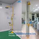 Vòi sen khẩn cấp - thiết bị chuyên dụng theo chuẩn ISO cho PTN của bạn - Phượng Hải JSC