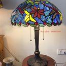 Đèn tiffany cách điệu Hoa sen Chuồn.