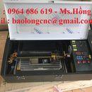 Máy laser mini 3020 khắc con dấu cao su giá chỉ 15 triệu/máy