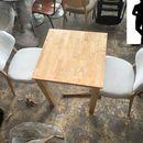 Bộ bàn ghế cafe gỗ mới 99%