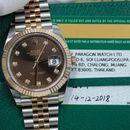Đồng hồ Rolex Date Just 126331 mặt nâu chocolate size 41mm