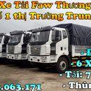 Xe tải 8 tấn - Xe tải faw 7.25  tấn - Thùng bạt 9m7 - Động cơ 6 máy mạnh mẽ