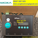 Nport 5410 – Bộ chuyển đổi tín hiệu 10/100M Ethernet sang 4 cổng RS-232 – Moxa Việt Nam