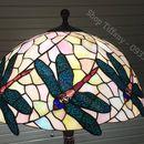 Đèn sàn tiffany họa tiết chuồn chuồn bay