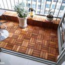 Sàn gỗ vỉ nhựa lót ban công , sân vườn , nhà vệ sinh (1m2)