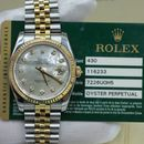 Đồng hồ Rolex Date just 116233 mặt trai trắng size 36mm