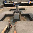 Cầu nâng 1 trụ rửa xe ô tô Ấn Độ lắp âm nền kiểu chữ I - TAHICO