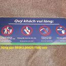 Sản xuất biển báo cấm hút thuốc, biển no smoking giá rẻ tại hà Nội