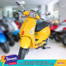 VESPA SPRINT YELLOW SOLE