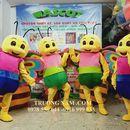 Mascot  thiên nhiên ong và bướm 0978550644