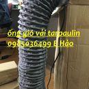 Chuyên cung cấp ống hút khí vải lõi thép D100, D125, D150, D200