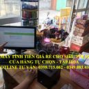 Lắp đặt thiết bị tính tiền giá rẻ cho siêu thị mini, tạp hóa tự chọn tại Đà Nẵng