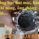 Ống bạc mềm hút bụi, hút mùi, dẫn khói, dẫn khí  hàng chính hãng