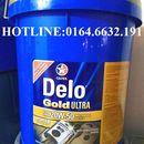 Dầu nhớt Caltex Delo Gold Ultra SAE 15W40 xô 18L