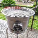 Bếp nướng than hoa không khói hút âm bàn