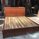Giường gỗ 1m6 hàng đẹp 95%